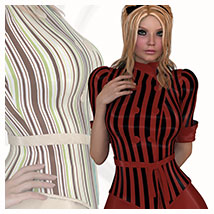 Stylz for Uptown Fashion Outfit 3D Models 3D Figure Essentials Belladzines