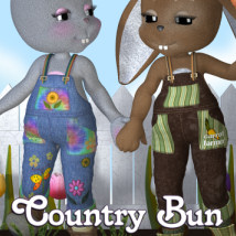 Country Bun Themed Footwear Clothing JudibugDesigns