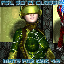 FSL Sci Fi Classic Mats DAZ 4.5 2D And/Or Merchant Resources Themed fuseling