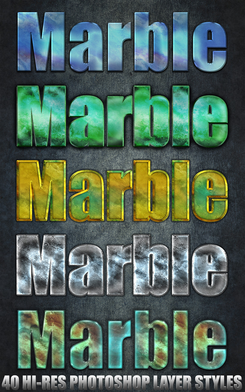 Marble - Photoshop Styles
