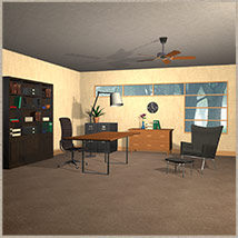 The Home Office Set 3D Models Richabri