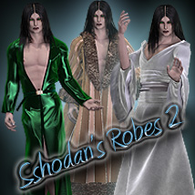 Sshodan's Robes 2 M4 Clothing Sshodan