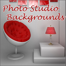 Photo Studio Backgrounds 3D Models 2D -Melkor-