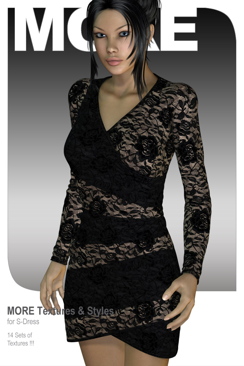 MORE Textures & Styles for S-Dress