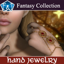 Hand Jewelry Accessories Themed Software EmmaAndJordi