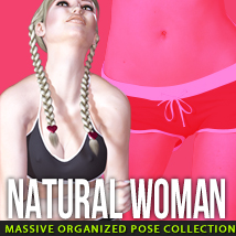 i13 Natural WOMAN Themed Poses/Expressions Software ironman13
