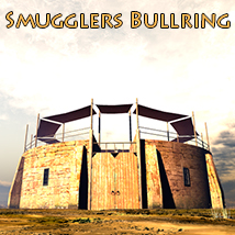 Smugglers Bullring Software Props/Scenes/Architecture Themed 1971s