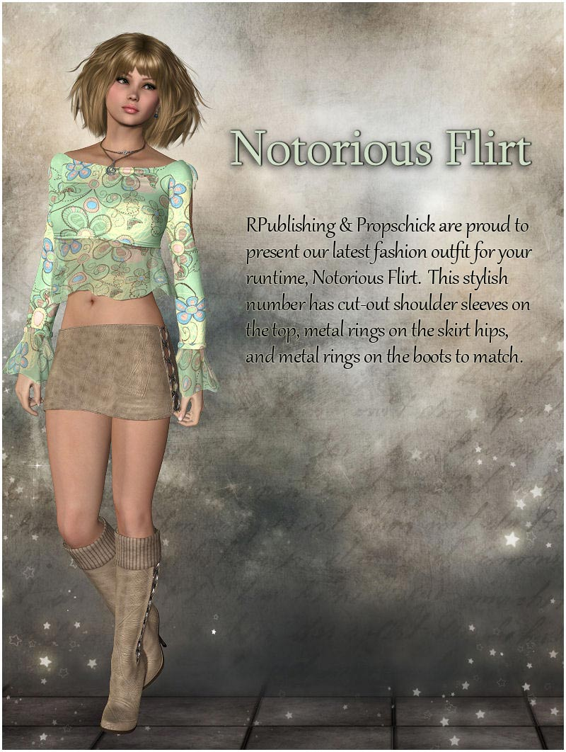Notorious Flirt for V4, A4, G4