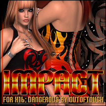 Impact for X16: Dangerous for V4 A4 G4 3D Figure Essentials ShanasSoulmate