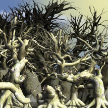 Dead Trees DR 2 3D Models Dinoraul