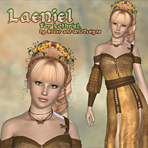 Laeniel for Lothriel 3D Figure Essentials Blazerwiccan