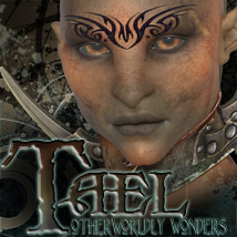 Otherworldly Wonders: Tael 3D Figure Assets 3D Models surreality