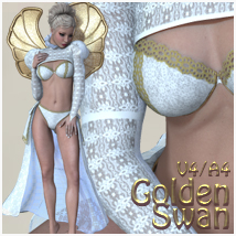 Golden Swan V4-A4 Clothing Themed nikisatez