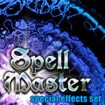 Spell Master magical special effects 2D Graphics TheToyman