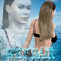 Pretty Wet Hair 3D Figure Essentials Pretty3D