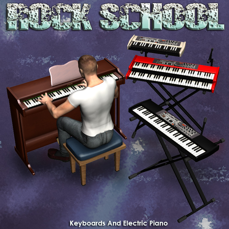 Rock School KeyBoards