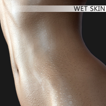 Wet Skin 3D Figure Essentials mytilus