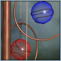 Wind Chimes Collection 3D Models -Wolfie-