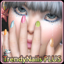 Trendy Nail PLUS 3D Figure Assets 3D Models ArtOfDreams
