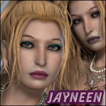 FW Jayneen 3D Figure Essentials 3D Models FWArt