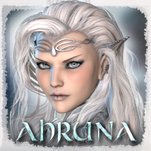 MDD Ahruna for V4.2 3D Figure Essentials Maddelirium