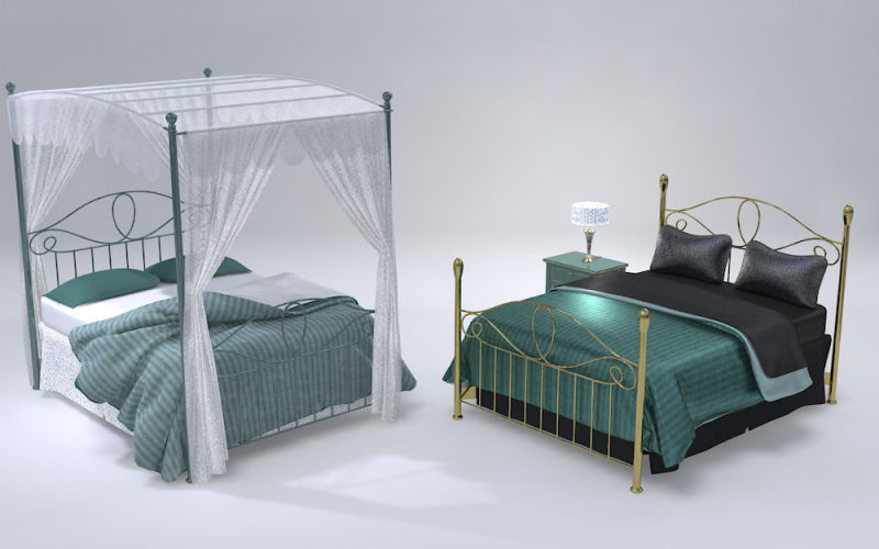 Furniture Set Two, Bed