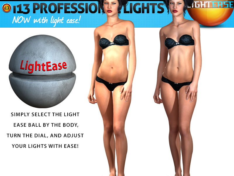 i13 PROFESSIONAL LIGHTS with LIGHT EASE
