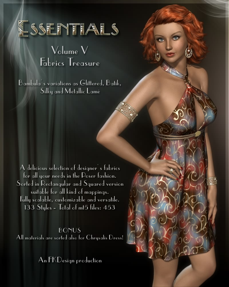 Essentials Vol V - Fabrics Treasure
