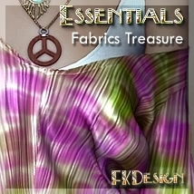 Essentials Vol V - Fabrics Treasure 3D Figure Assets fabiana