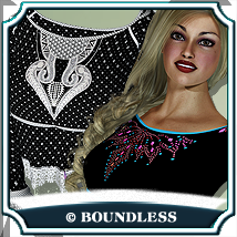 Notorious Flirt - Textures 3D Figure Essentials boundless