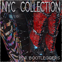 NYC Bootleggers Footwear 3DSublimeProductions