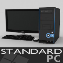 Standard PC 3D Models TruForm