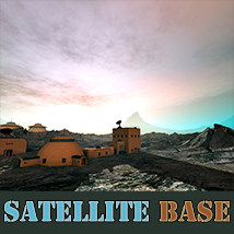Satellite Base 3D Models 1971s