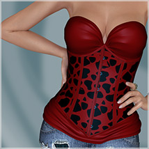 Stylz for Corset Donna 3D Models 3D Figure Essentials Belladzines