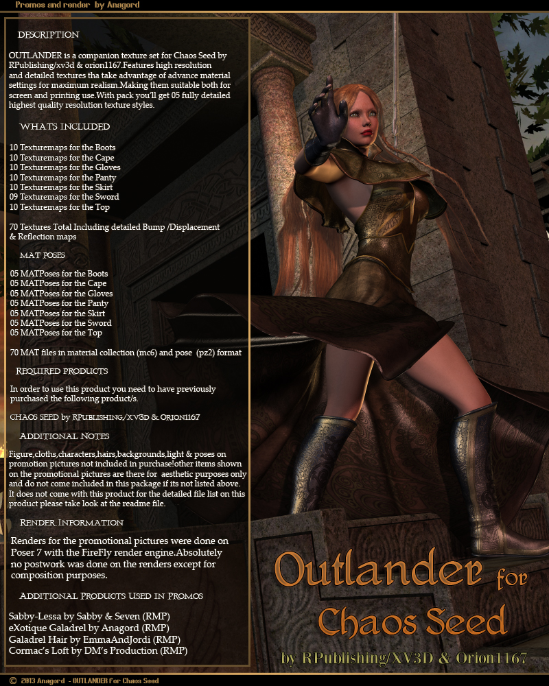 OUTLANDER for Chaos Seed