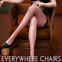 i13 Everywhere Chairs Props/Scenes/Architecture Software Themed ironman13