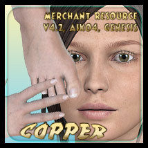 Merchant Resource - Copper - for V4.2, Aiko 4, Genesis 2D 3D Figure Essentials _Fenrissa_