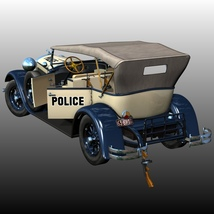 LINCOLN 1929 POLICE (for Poser) image 6