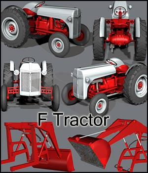 FTractor Transportation Themed Software Stand Alone Figures Schurby