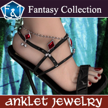 Anklet Jewelry Themed Accessories Software EmmaAndJordi