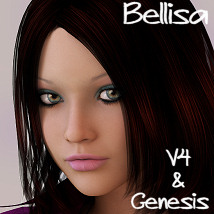 RM Bellisa V4 Genesis 3D Figure Essentials rebelmommy