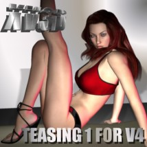 Teasing1 for V4 Software Poses/Expressions xv3d