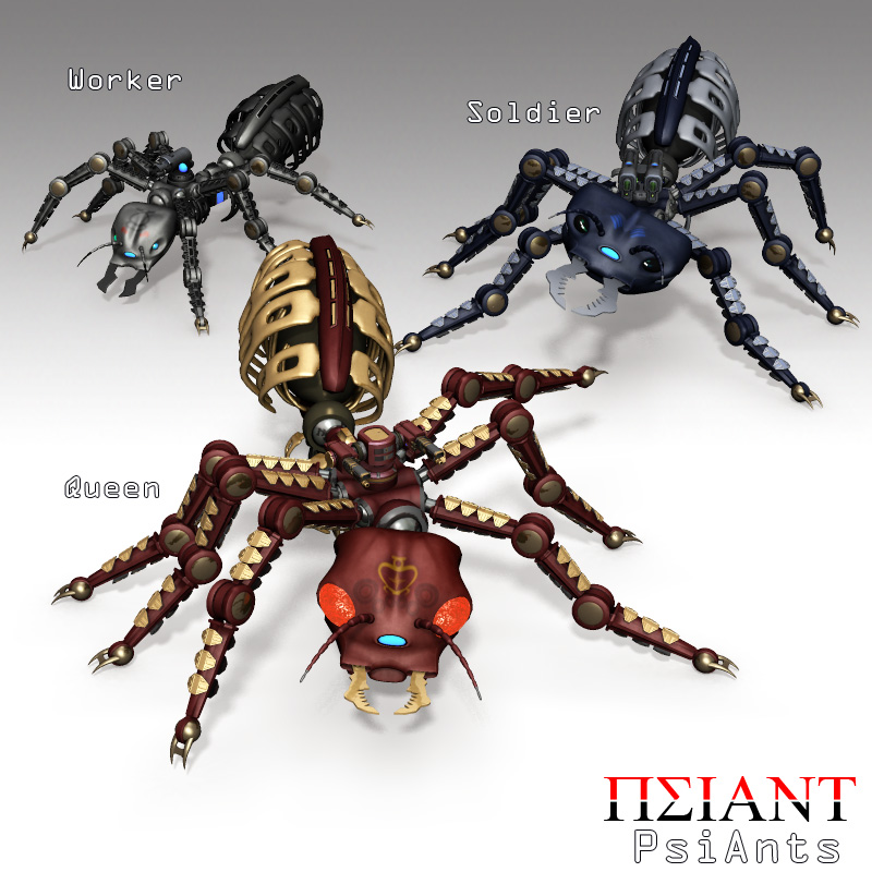 PsiAnts Robot Insect