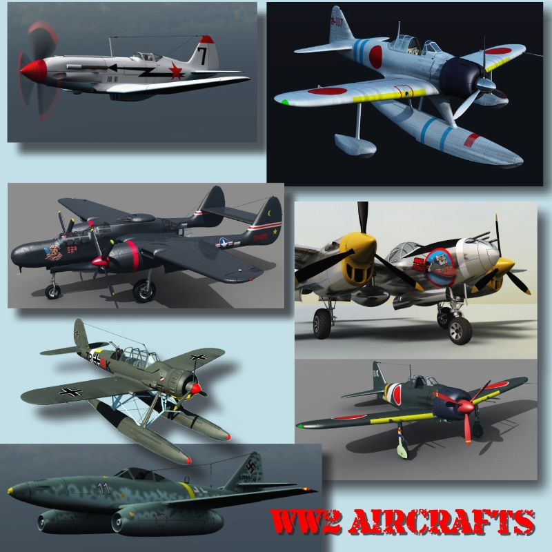 WW2 AIRCRAFTS BUNDLE (for VUE)