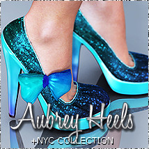 NYC:Aubrey Shoes 3D Figure Essentials 3DSublimeProductions