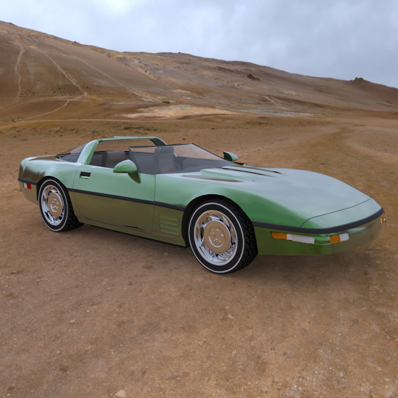 Corvette ZR 1 (for 3D Studio Max)