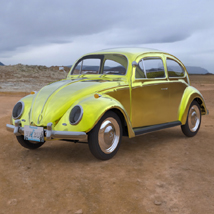 Volkswagen Beetle (for 3D Studio Max) Software Themed Digimation_ModelBank