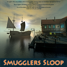 Smugglers Sloop Transportation Themed Software 1971s