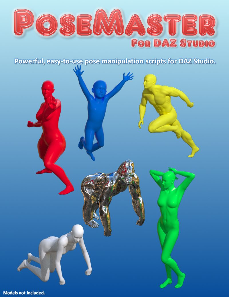 PoseMaster for DAZ Studio