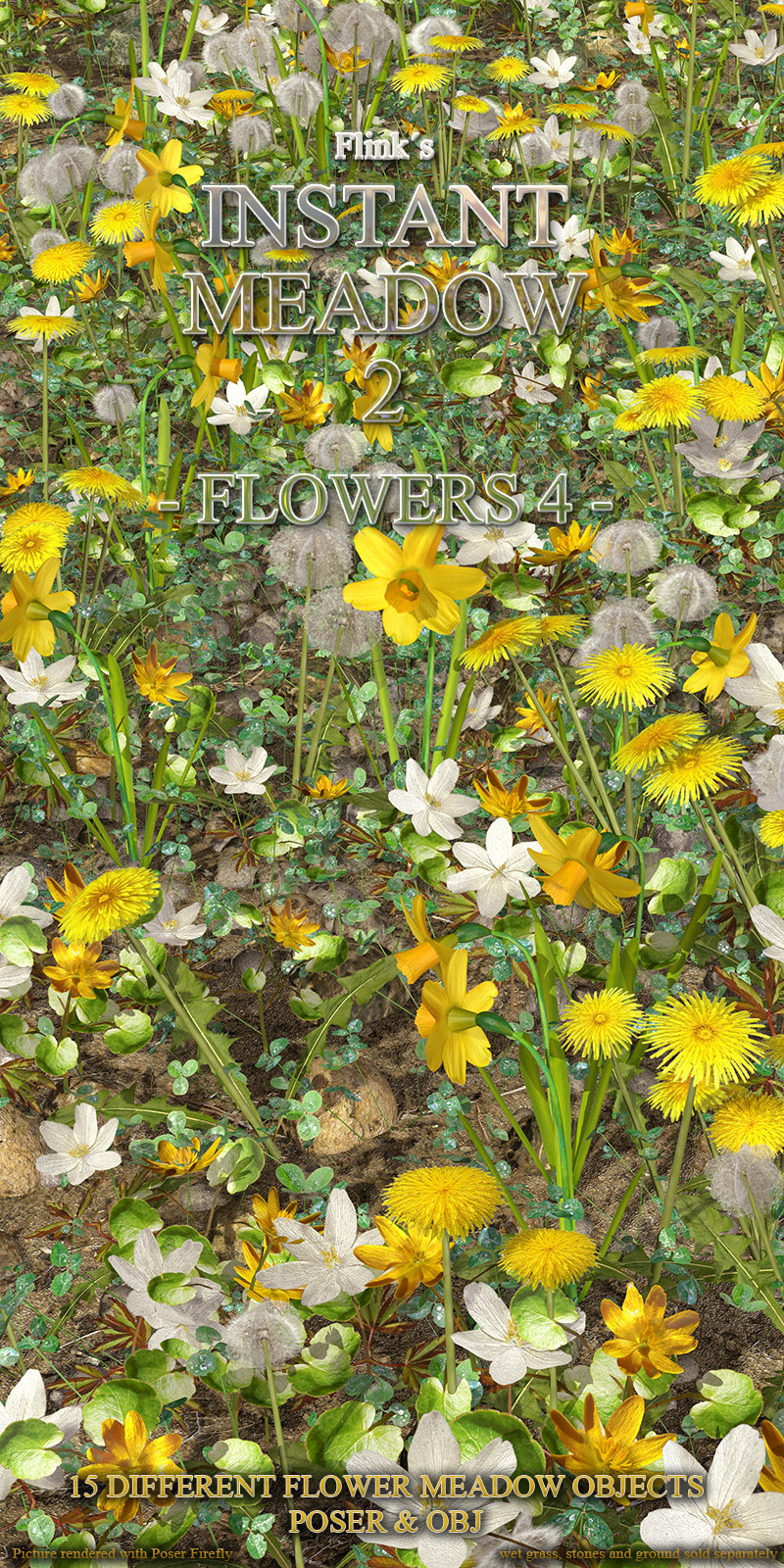 Flinks Instant Meadow 2 - Flowers 4